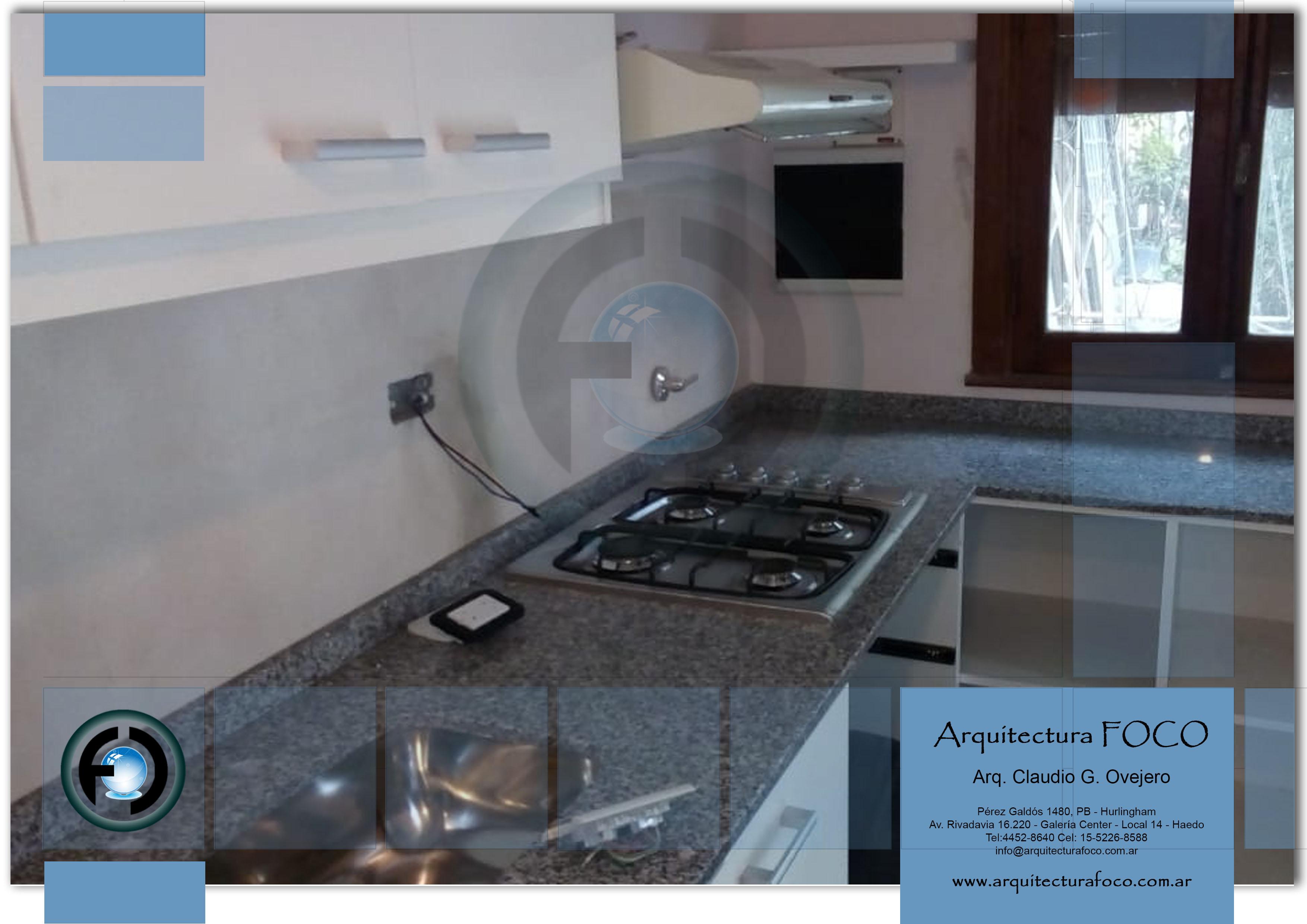 Ituzaingo, Buenos Aires. Reformas de cocina y colocación de mesada