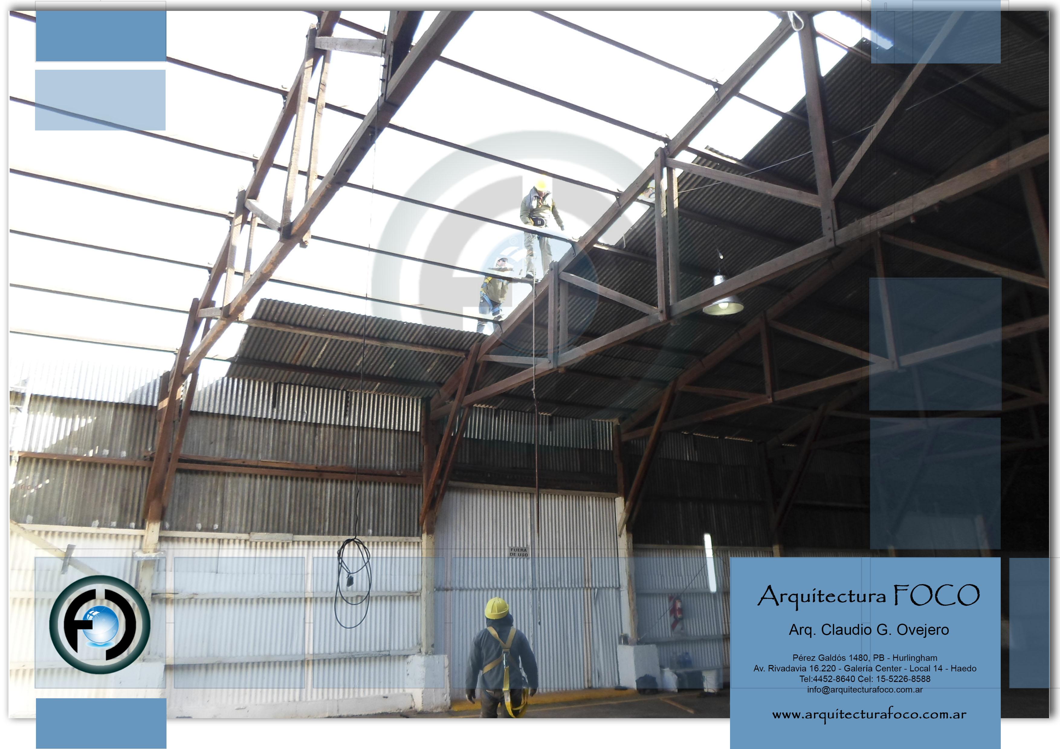 Trabajos en techo en CABA