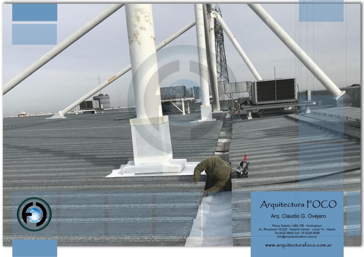 Mantenimiento de canaletas, trabajos en altura, sellados, reemplazo de zinguerias, Buenos Aires