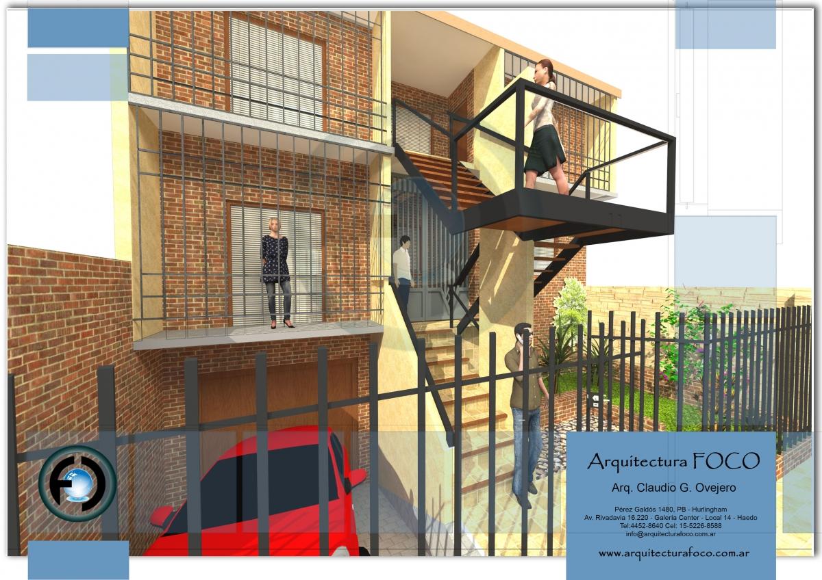 Martín Coronado, Buenos Aires. Proyecto por reforma en casa unifamiliar