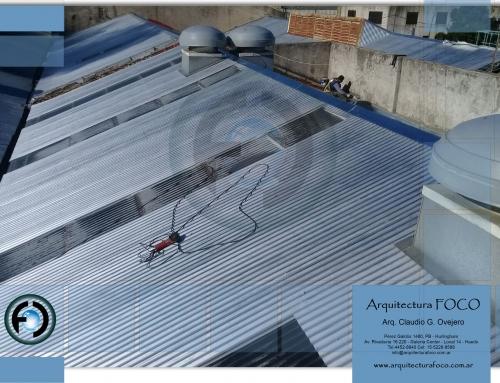 Palermo, CABA. Trabajos por filtraciones en techos