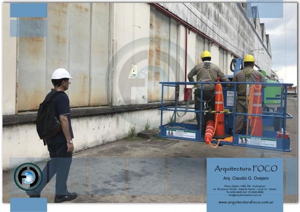 Haedo, Buenos Aires. Mantenimiento de techos galpones industriales