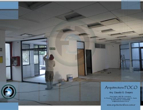 Liniers, CABA. Trabajos de pintura en local comercial